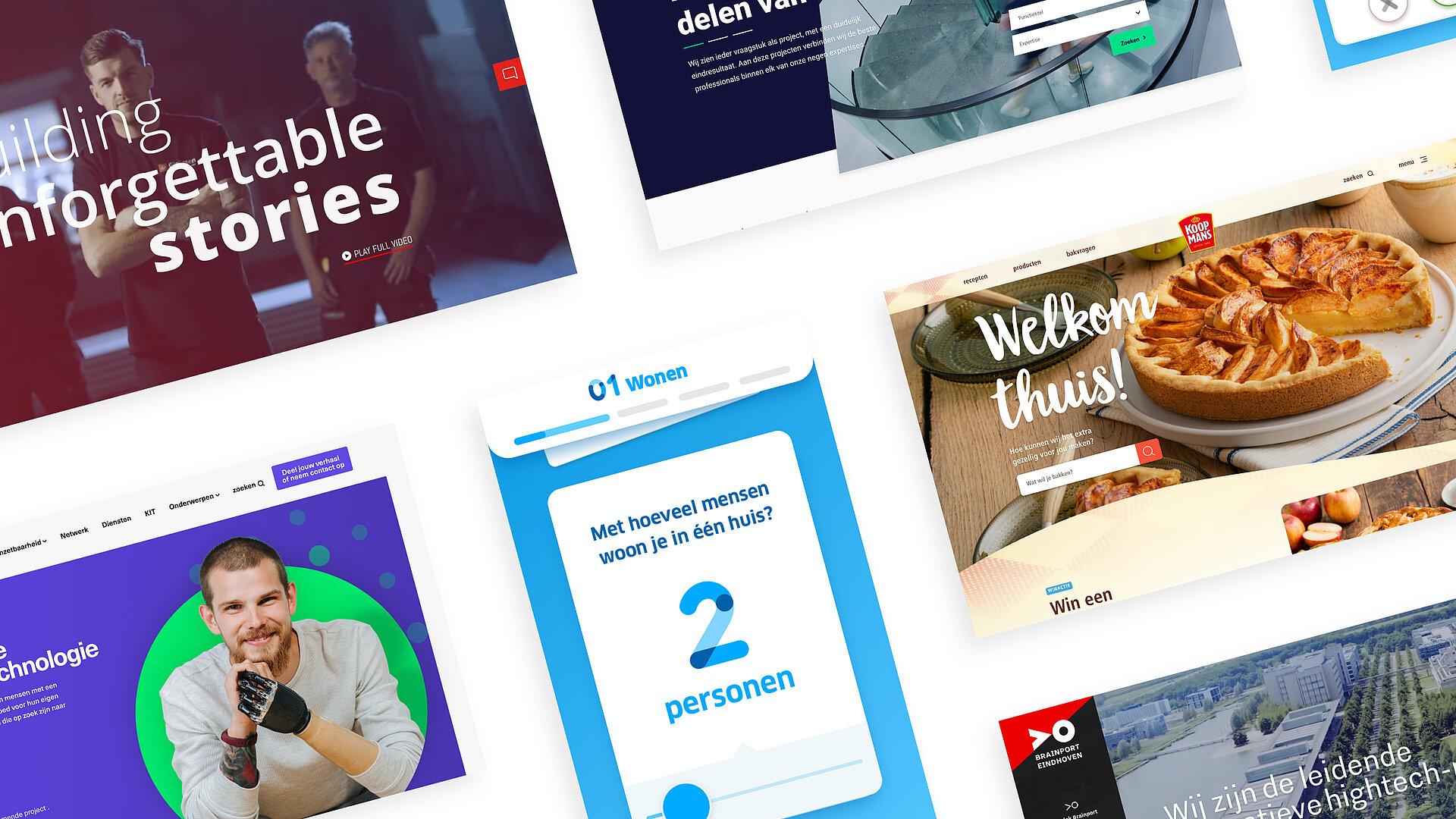 Design visuals van full service digital design bureau